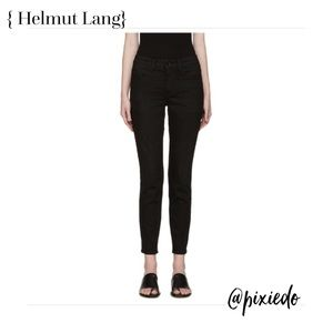 Ankle Skinny Black Tacked